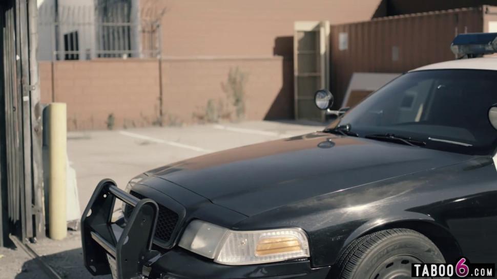 Big Tit Female Cop Has a Tiny Teen Resisting Arrest