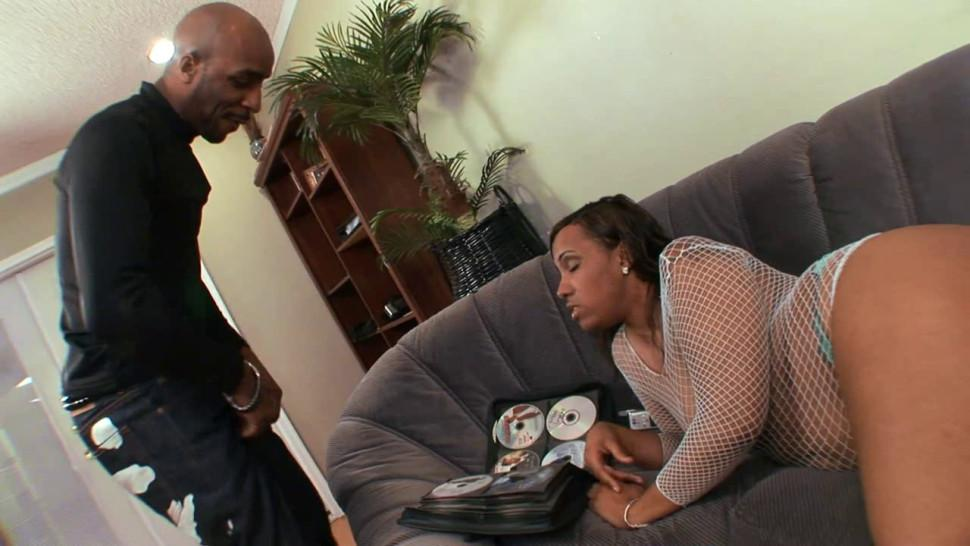 Chubby Black Wife Fucked by Black Cock