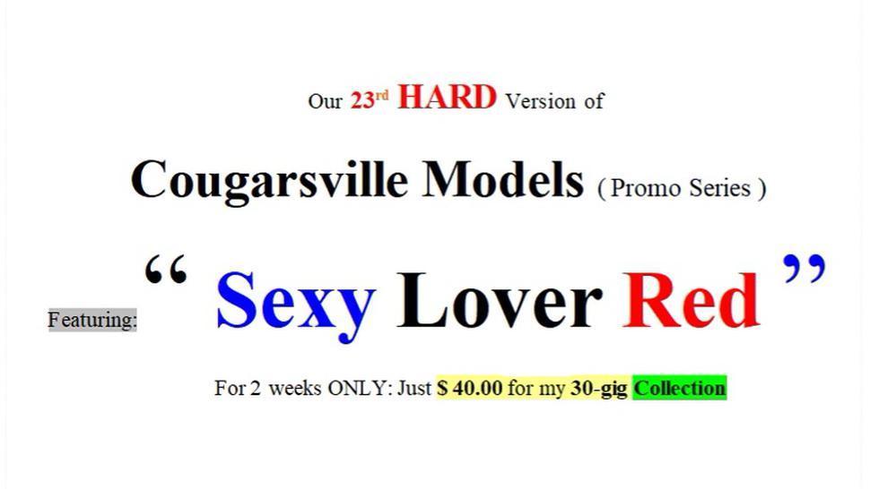 23Rd Hard Version Of  Web Models Of Cougarsville (Promo)