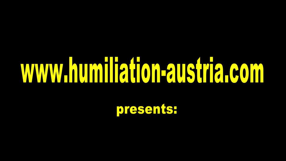 HUMILIATION AUSTRIA - Femdom Fetish Ladies humiliate slaves