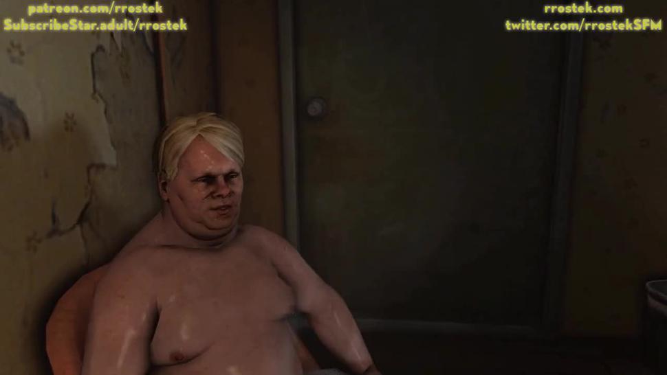 Lulu providing escort services to depraved men in Motel 3D Animation
