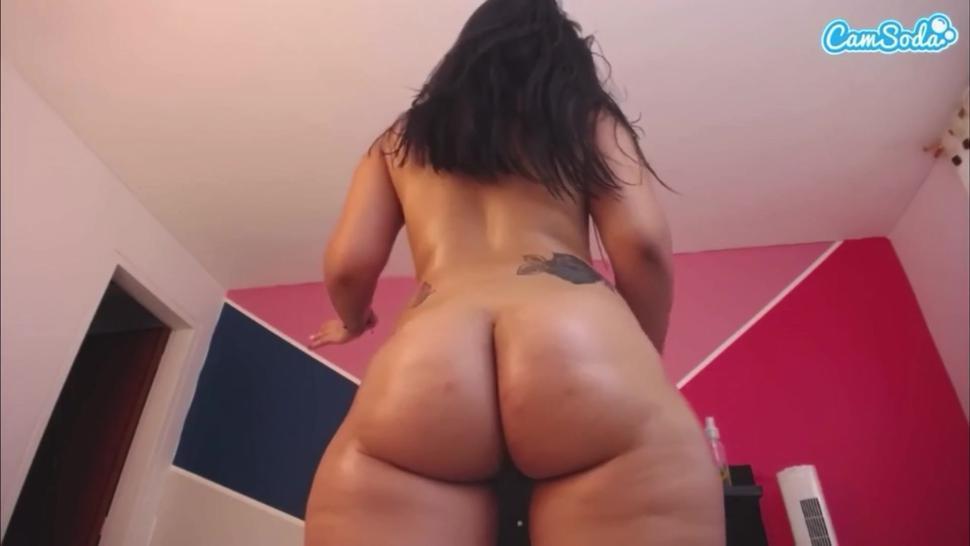 Curvy Latina Ass Looks So Soft