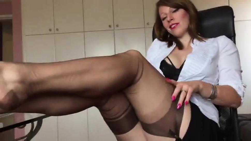 Short Clip From Hot German Nylon Mistress Anett Larmann