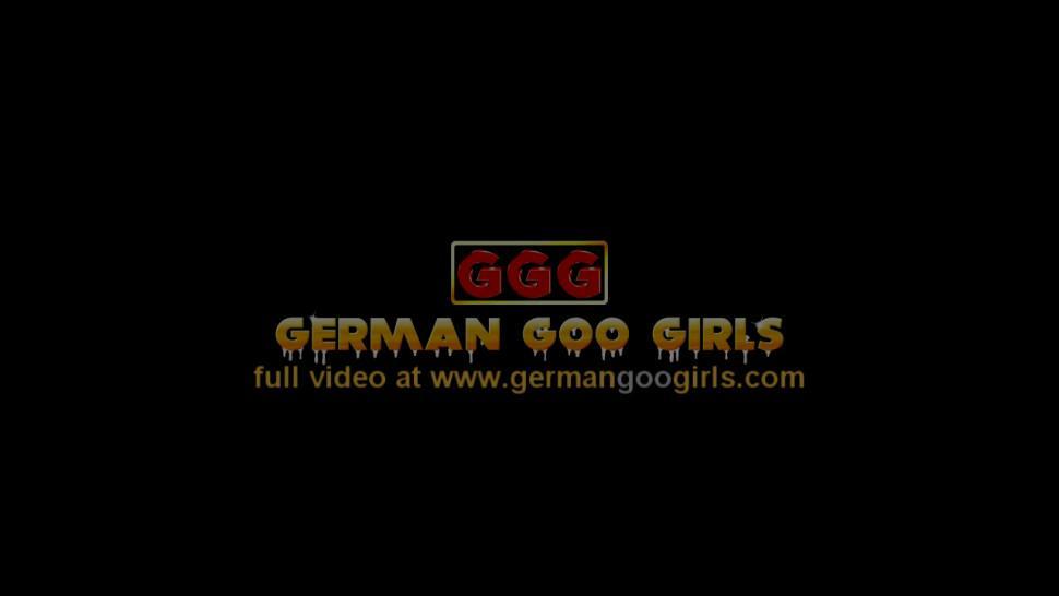 GERMANGOOGIRLS - Brunette and redhead nymphos get fucked