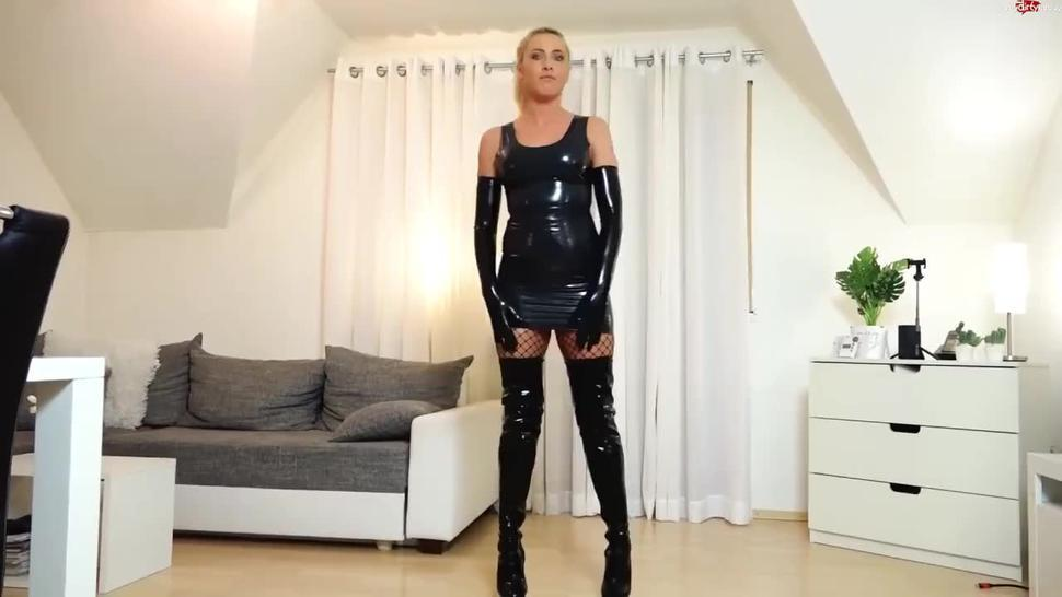 latex domination piss and sex