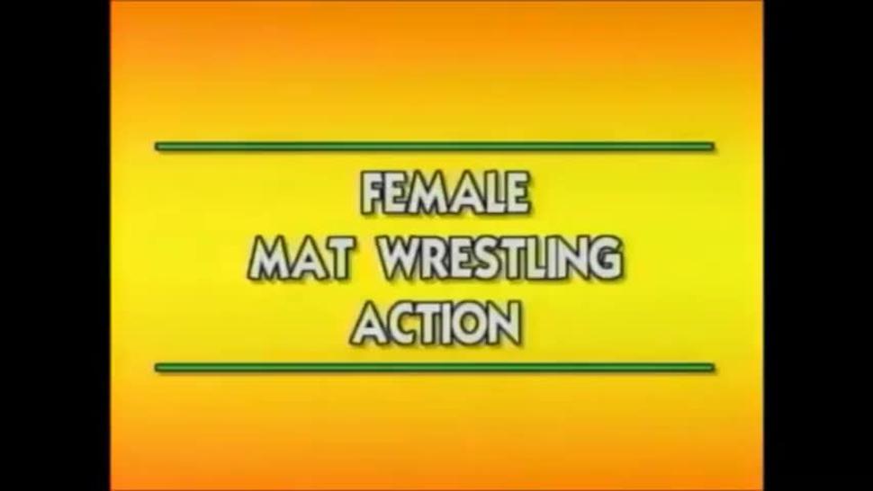 Massive muscular FBB wrestling huge fbb wrestling christa bauch vs kimberly rogers muscular women