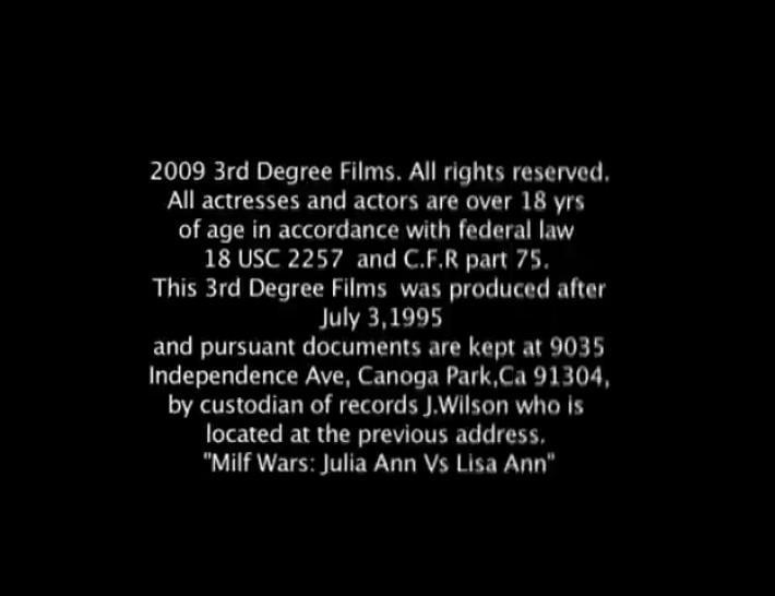 Milf Wars Lisa Ann vs Julie Ann
