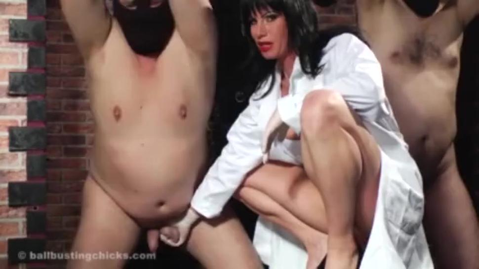 Femdom mistress doctor cbt