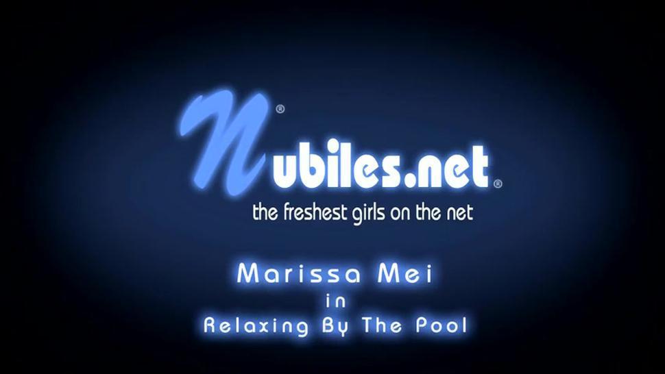 Girl Takes Off Bikini And Has Fun With Dildo - Marissa Mae