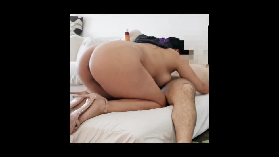 Cuckold guy helps his wife's lover screw her better