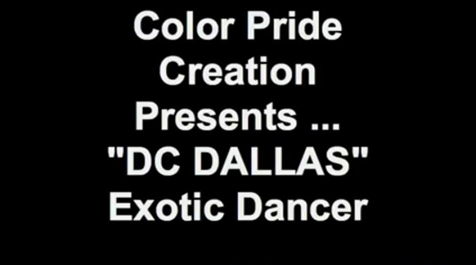 black stripper dancing