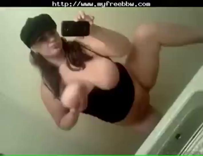 Chubby Masturbates In Mirror BBW fat bbbw sbbw bbws bbw porn plumper fluff