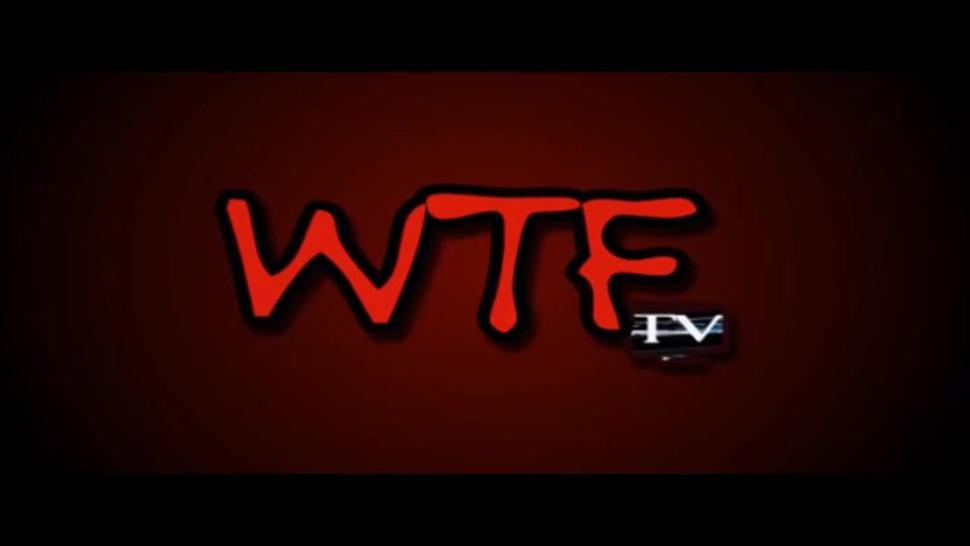 Miss LingLing and friend Interviewed and groped by weird pervy dude from WTF TV