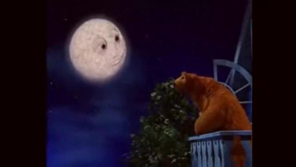 Russian bear has oral sex with the moon