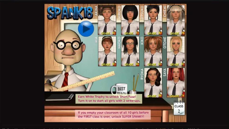 Spank 18 Gameplay Porn Game, Adult Game
