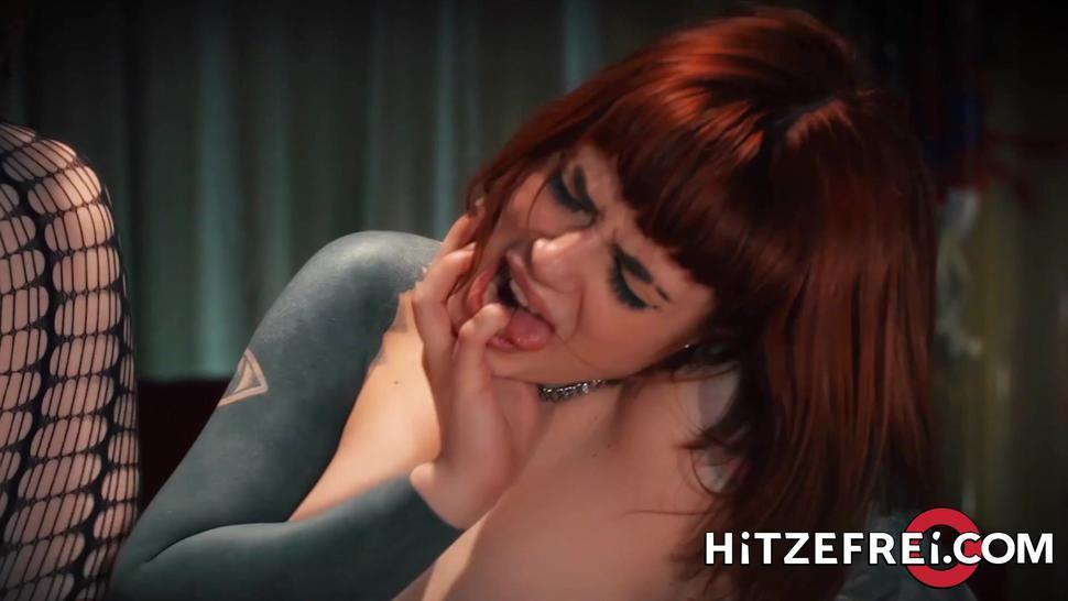 Big Tit German Slut Loves Black Dick - Jolee Love