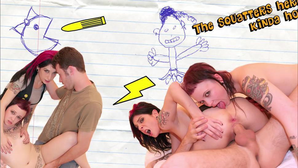 The Joanna Angel Magical Threesome Adventure Experience ( Joanna Angel, Daisy Sparks )