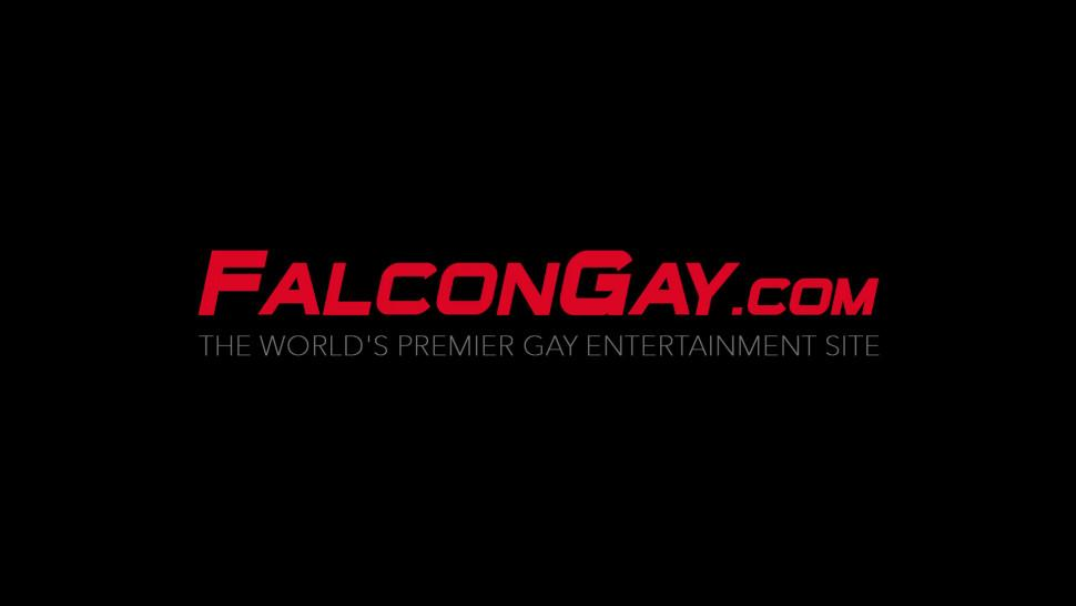FALCON GAY - Two gay studs enjoy licking and giving each other blowjobs