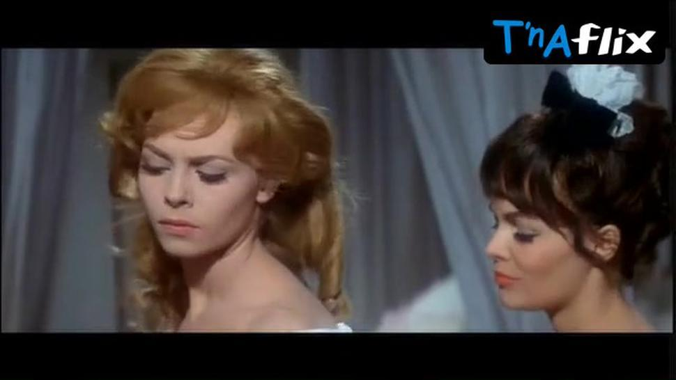 Michele Mercier Sexy Scene  in Angelique