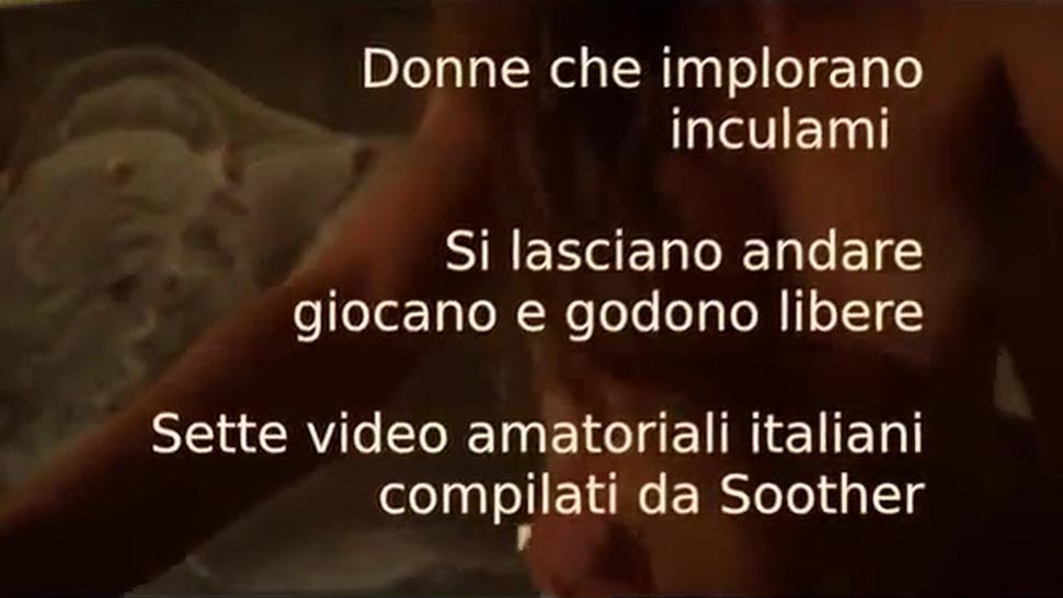 Compilation of Italians having hardcore anal sex