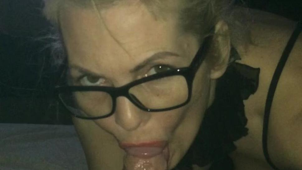 Blonde Milf Blowjob HOT!!!