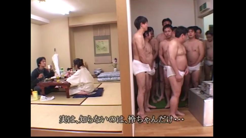 Cum And Sushi for 18 year old Japanese Teen - Japanese Bukkake Orgy - JapaneseBukkakeOrgy
