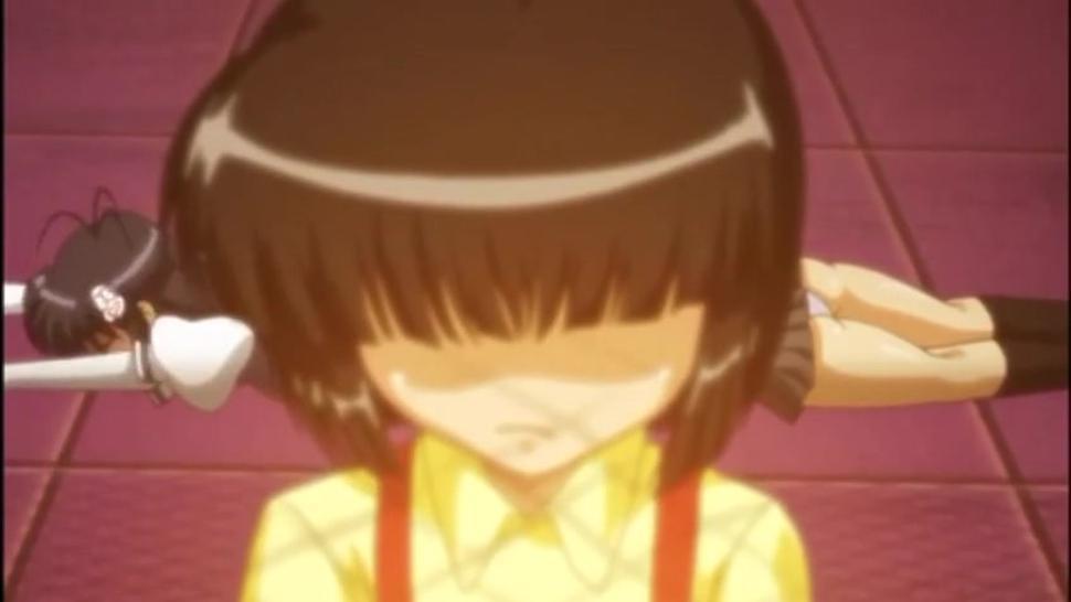 Futanari girl fucks school girl