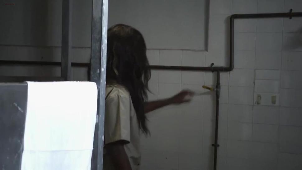 Big best boob female prisoner beaten by fellow prisoners