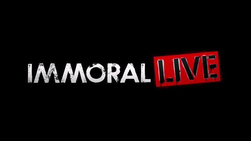 ImmoralLive REAL & HARDCORE amateur TEEN PARTY!