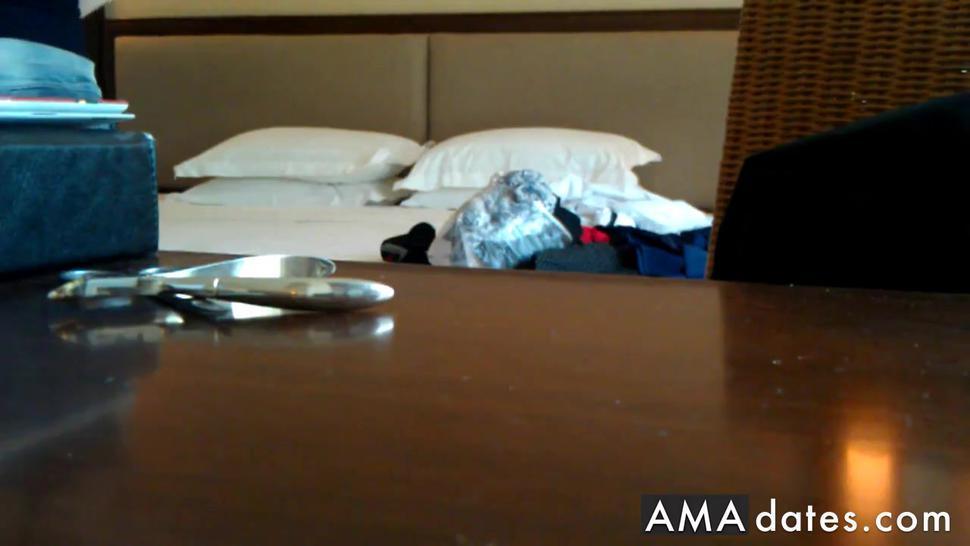 Russian whore Hidden cam in hotel room