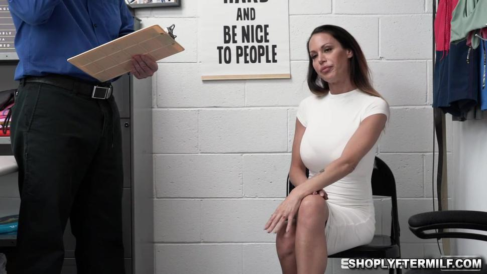 Mckenzie is and MILF who bangs officer Jacks massive cock
