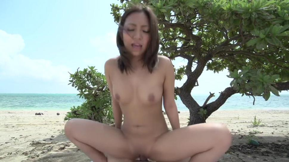 Nude japanese airi minami with massive tits blows well