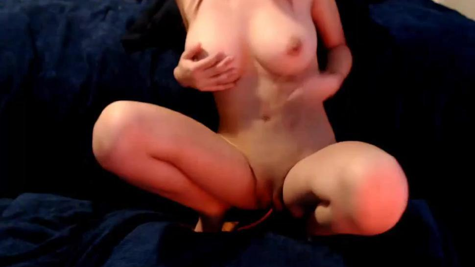 Perfect Perky Big Tits Hot Camgirl