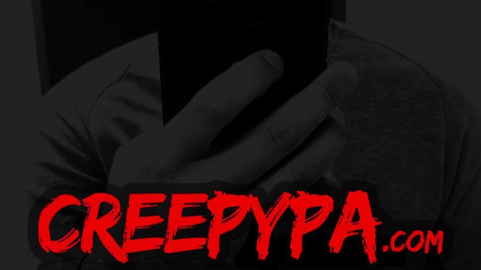 CREEPYPA Secret Bondage Caught On Video With Charlotte Sins