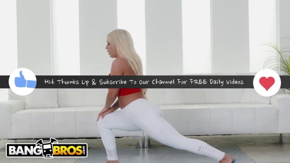 Bangbros - Big Boobs Pawg Brandi Bae Is Craves Jon Jon'S Bbc During Yoga