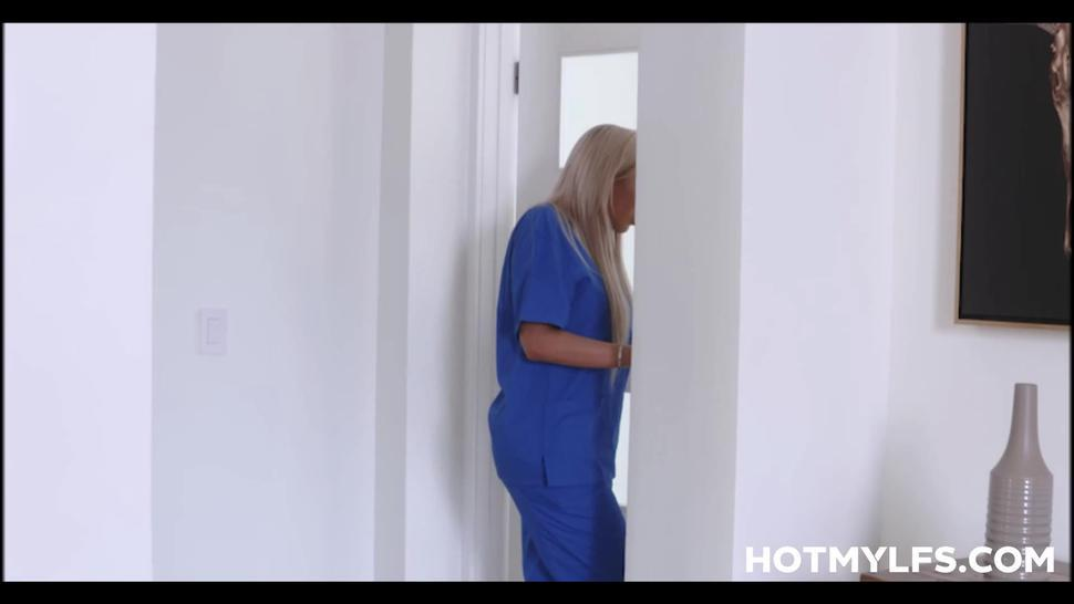 Big Tits Blonde Milf Nurse Step Mother Family Sex With Injured Step Son Pov