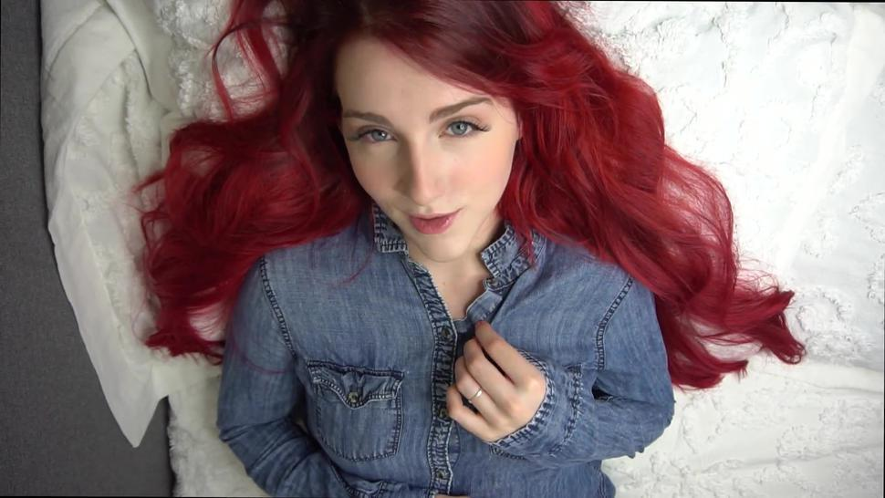Young Redhead Beautiful Agony