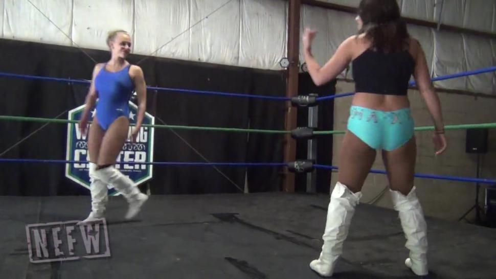 Dizzy girls wrestling