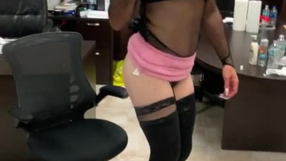 Crossdresser Strokes Dick Begs For Daddy'S Dick Dances Like Cum Whore
