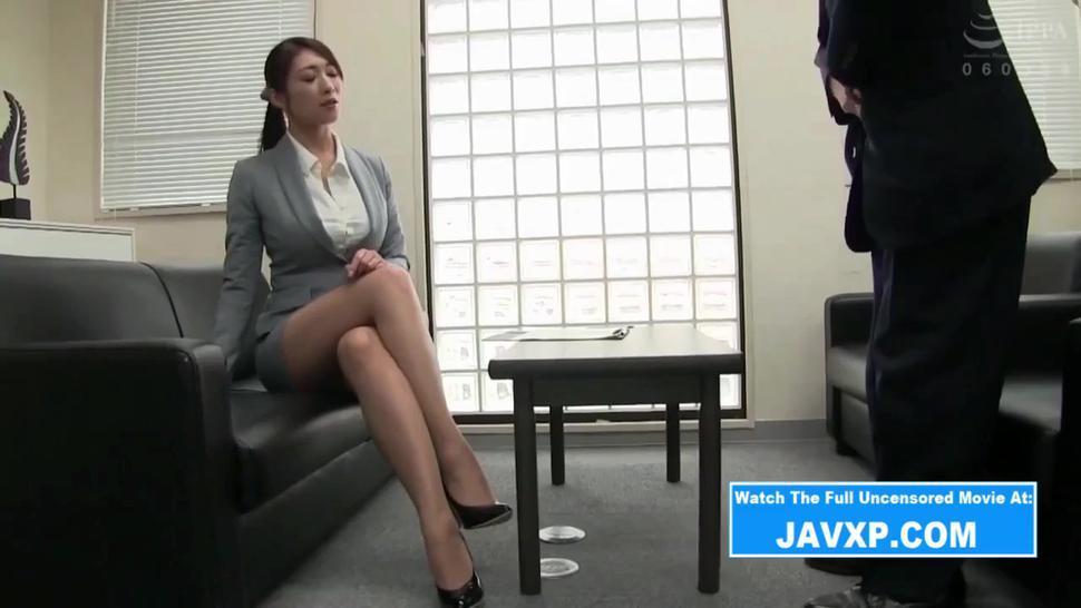 Fucking The Slutty Japanese Office MILF