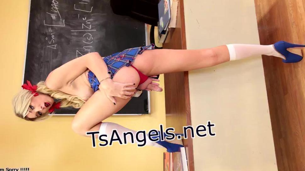 TS Pamela gets anal by Latinos bigcock