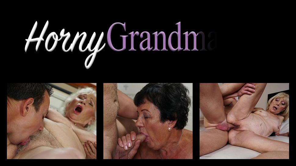 Granny gets anally toyed and fucked