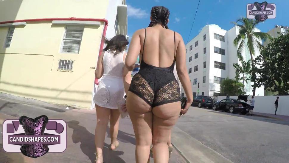 Big ass latina walking