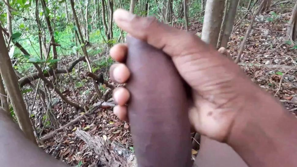 I was Horny So I went to the Forest to Masterbate- Part 1- Comment below if you wanna see Part 2!