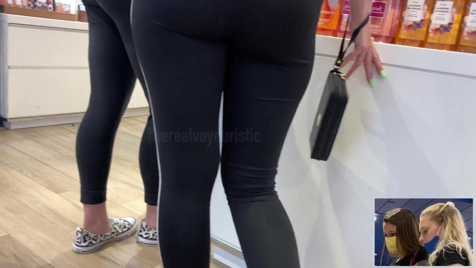 Beauties shopping for smells  Candid 4k