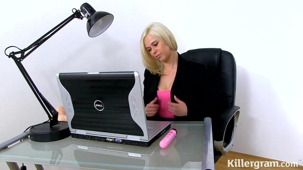 Hardcore Milf Secretary At Work - Anna Joy