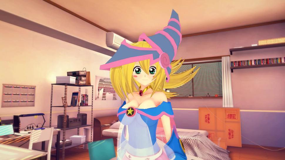 (3D Hentai)(Yu-Gi-Oh!) Dark Magician Girl footjob