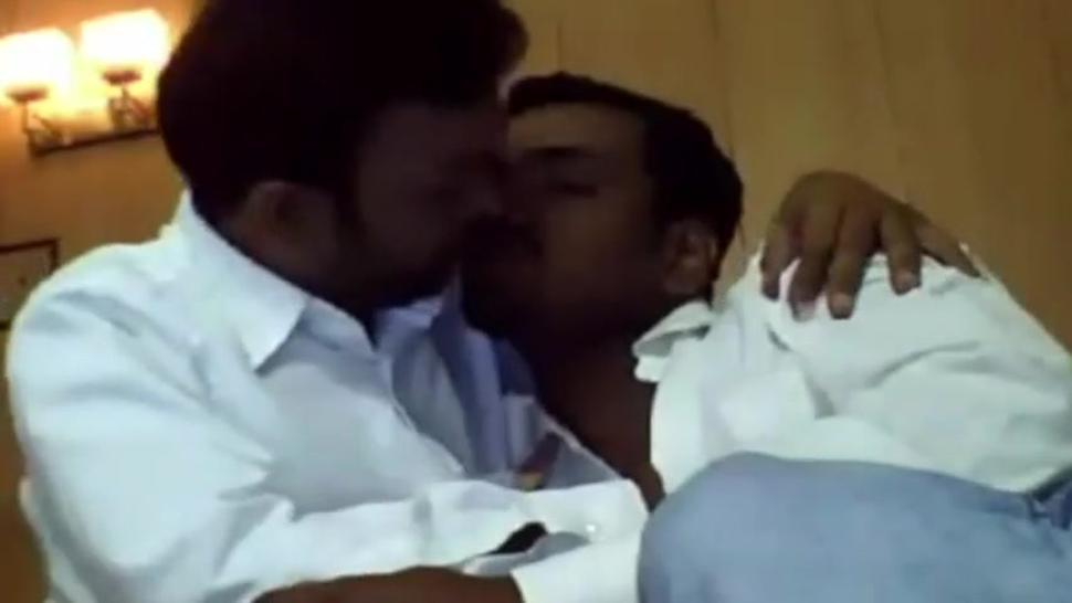 Horny Indian Gay Guys Kissing Each Other