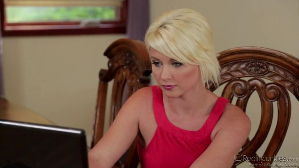 Sexy Blonde Dani Is Addicted To This Cock - Dani Desire