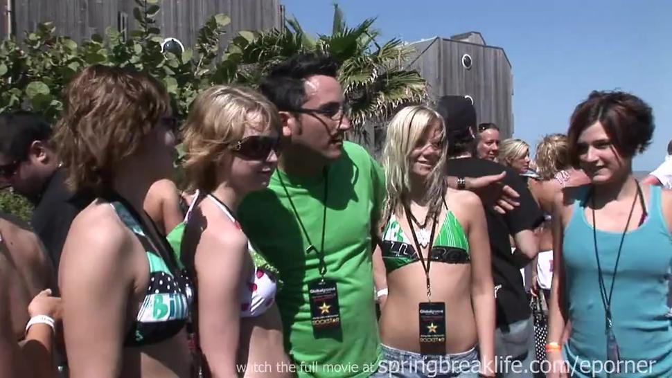 Spring Break Bikini Party